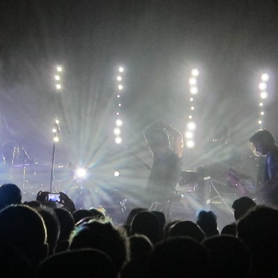 Gary Numan performing at Beachland Ballroom