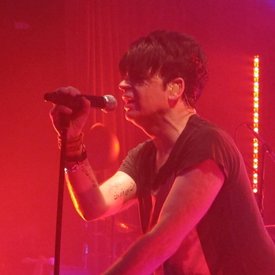 Gary Numan performing at Beachland Ballroom