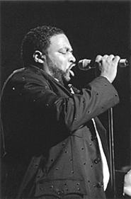 """Gerald Levert on his relationship with his father, Eddie: - """"We sometimes clash. Everything ain't always roses."""" - WALTER  NOVAK"""