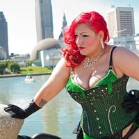 "10 Things Going on in Cleveland this Weekend (October 25-27) Given that Ohio Burlesque's Bella Sin is of Hispanic heritage, it's not surprising she'd be into throwing a Dia De Los Muertos bash. Dubbed The Undead Burlesque Ball, tonight's show features headliner Red Rum, a Chicago-based burlesque dancer whose skull-like masks make her look like some kind of zombie sprung back to life. In total, some 12 entertainers will perform; the performances will run the gamut, from ""scary to nerdy,"" as Sin puts it. In addition, fans are invited to bring ""offerings"" to the dead that they can leave at an alter. The Cleveland Kings and Girls, a local drag queen group, will put on a special Halloween-themed show, and DJ Nemesis will provide the beats. The event takes place tonight at 9 at the Beachland Ballroom and tickets are $15 in advance and $17 on the day of the show. (Niesel) $15 ADV, $17 DOS Photo Courtesy of The Cleveland Jazz Orchestra, Facebook"