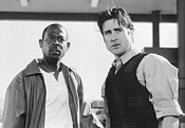 Good cop, bad movie: Martin Lawrence (left) with Luke Wilson.