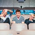 Great Danes: The guys in New Politics Draw Inspiration from '90s Alternative Rock