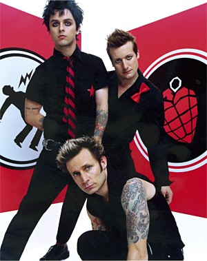 Green Day wishes you a happy Fourth.