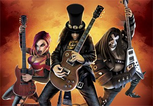 Guitar Hero III's Slash: Still more lifelike than Axl.