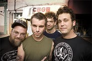 Guitarist Brian Venable (left) returned to Lucero after realizing his life was nothing special.