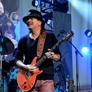 Guitarist Carlos Santana Still at the Top of His Game