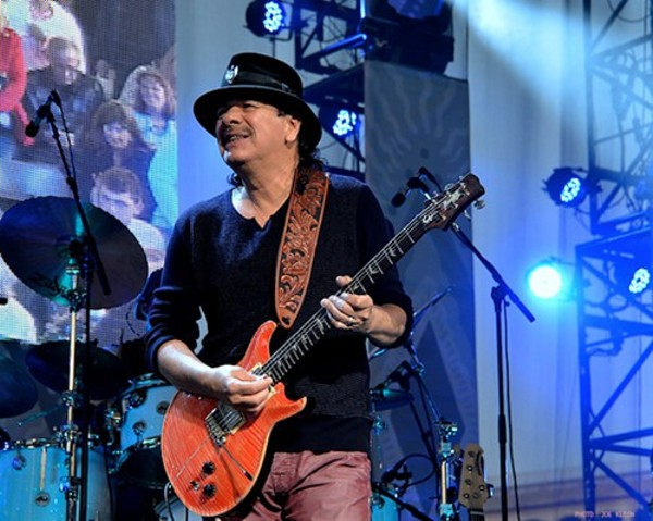 guitarist carlos santana still at the top of his game scene and heard scene 39 s news blog. Black Bedroom Furniture Sets. Home Design Ideas