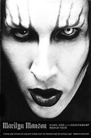 Guns, God, and pissing transvestites highlight - Manson's latest.
