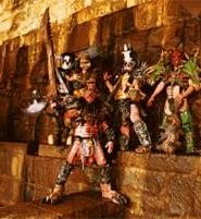 GWAR members like to dress up for their fans.