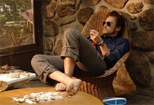 Heath Ledger evokes Dylan as divorcée.