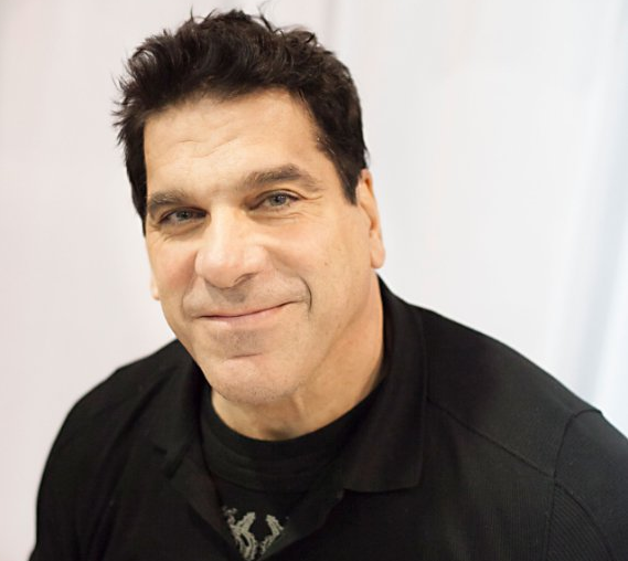 SAY HEY TO LOU FERRIGNO THIS WEEKEND.