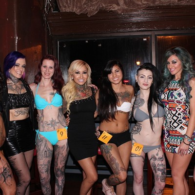 Here's What You Missed at Last Night's Miss Ink 216 Competition at Liquid