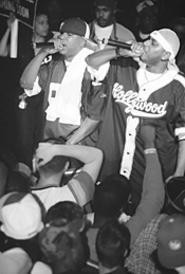 Hip-hoppers Capone-N-Noreaga were at Peabody's - with the Def Jam Vendetta tour on May 14. - WANDA  SANTOS-BRAY