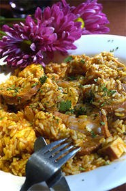 Homemade jambalaya hits just the right peppery note. - WALTER NOVAK