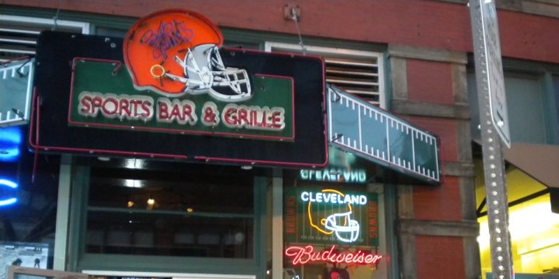 10 Lesser Known Cleveland Bars Great for Catching a Browns Game How about watching a Browns home game with Browns legend Bob Golic? Well on home game days a Golic's Sports bar & Grill on West 6th in downtown Cleveland, you can see Bob Golic treating everyone like family. While you are there, make sure to try the wings! Bob Golic's Sports Bar & Grill is located at 1213 West Sixth St. Call 216-363-1130 or visit bobgolic.com for more information. Photo Courtesy of Bob Golic's Sport Bars & Grill, Facebook