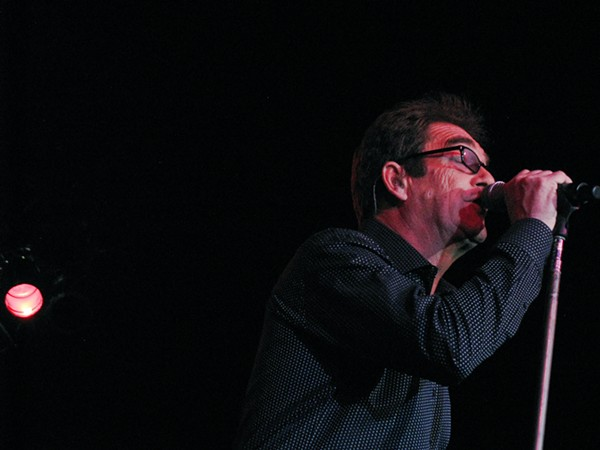 Huey Lewis & the News performing at Hard Rock Live
