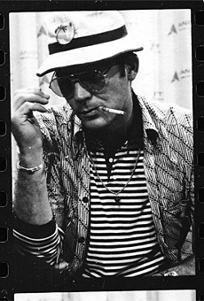 Hunter S. Thompson had a fear and loathing of good fashion.