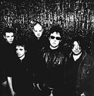 Ian McCulloch (shades) and the rest of the greatest band - in the world.