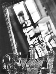 If stemware turns you on, take a swig from Varietals' - glass. - WALTER  NOVAK