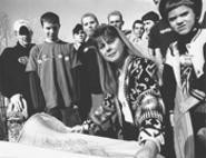 If you build it, they will come: RaeAnne Thomas and the skatepunks of North Olmsted. - WALTER  NOVAK