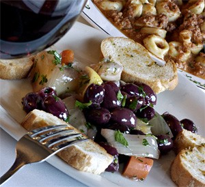 Il Bacio dishes up top-notch service, along with a delightful mix of marinated olives and carrots. - WALTER NOVAK