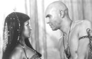 Imhotep puts the moves on Anck-Su-Namun.