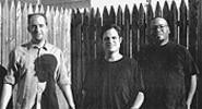 In search of Sammy: Scott Schrade, Jeff Hardy, and John Lee (from left) of C.D. Truth.