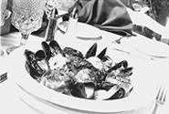 It pays to be shellfish at Le Bistro du Beaujolais. - WALTER  NOVAK