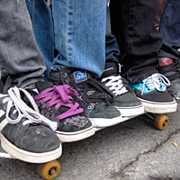 """10 Things Going on in Cleveland This Weekend (June 20 - 22) It seems like there's a day celebrating every sort of activity. Today, for example, is Go Skateboarding Day. To get in the spirit, Coventry Village and Public Square Group, a Cleveland nonprofit """"dedicated to skateboarding, art and civics,"""" have teamed up to transform Parking Lot 15 (located between Heights Cleaners and Marc's on Coventry Road) into a one-day pop-up skate park complete with ramps and obstacles. The event takes place from 3 to 7 p.m. and admission is free. After the pop-up park closes, B-Side Liquor Lounge & Arcade hosts an all-ages party that will include classic skateboarding videos, arcade and pinball games. There will be special discounts on food and drinks too. The event concludes with a free outdoor showing of the popular skateboarding documentary The Bones Brigade, An Autobiography in Coventry P.E.A.C.E. Park (at Euclid Heights Boulevard and Coventry Road) at 9 p.m. (Niesel) Photo Via Wikimedia Creative Commons"""