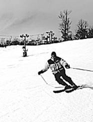 It's all downhill from here: The slopes at Brandywine.