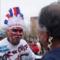 """It's Not Racist!"" And Other Responses to Wahoo Protesters at Home Opener"