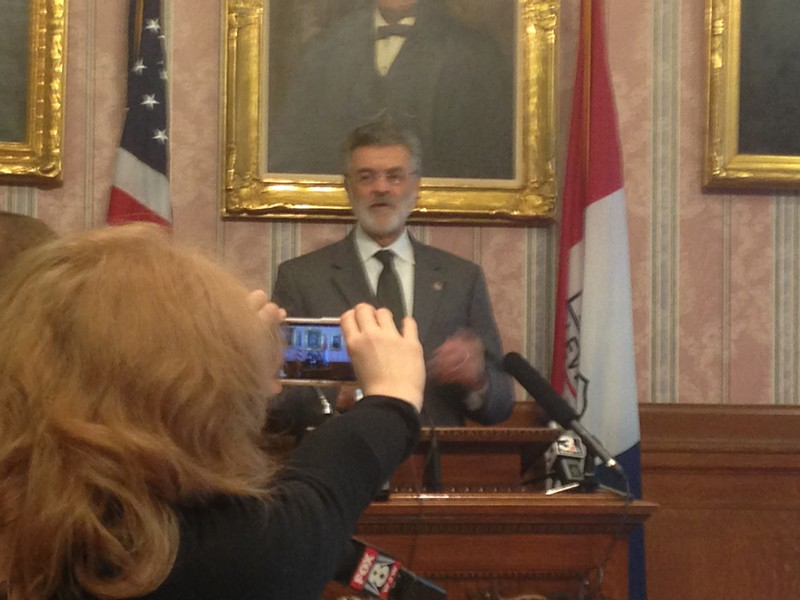 Jackson urging media to cut him some slack back in February. - SAM ALLARD / SCENE