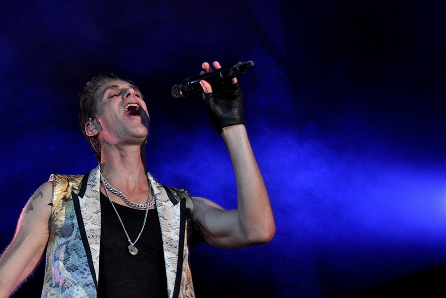 Jane's Addiction performing in Cleveland in 2012. - JOE KLEON