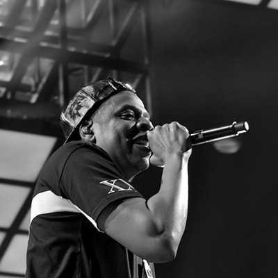 Jay Z Performing at Quicken Loans Arena