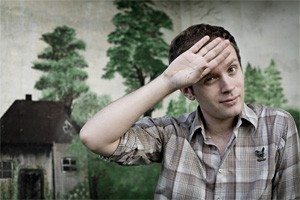 Jens Lekman is no doctor, but he's pretty sure he's coming down with something.