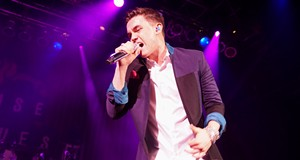 Jesse McCartney and Guinevere Performing at House of Blues