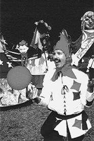 Jester average Renaissance clown.