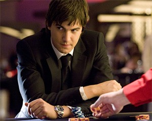 Jim Sturgess as Ben Campbell, the most suave-looking M.I.T. math nerd ever.