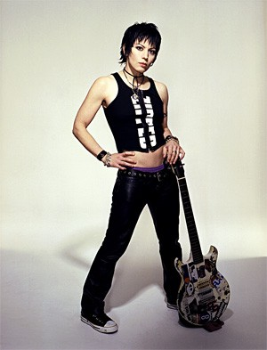 Joan Jett doesn't care about her bad reputation.