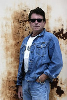 Joe Ely has perfected the look of your everyday barroom guy.