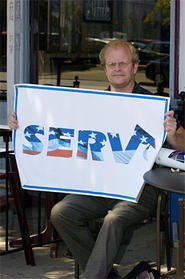John Schupp has earned the respect of veterans by doing what the VA doesn't: following through. - WALTER NOVAK