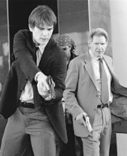 Josh Hartnett and Harrison Ford have their moments - in Hollywood Homicide.