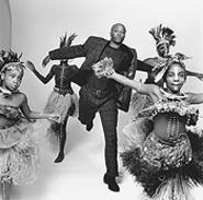 Julio Leitao, sporting traditional Harlem attire.