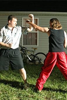Karate Kids: Danny McBride (left) and Ben Best in The Foot Fist Way.