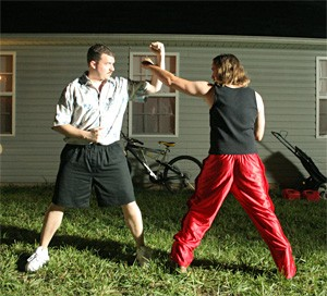 Karate Kids: Danny McBride (left) and Ben Best in The Foot Fist Way.