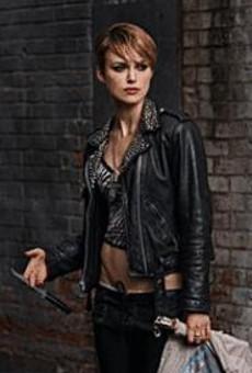 Keira Knightley cuts quite a figure as Domino.