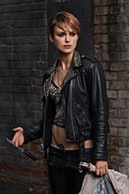 Keira Knightley cuts quite a figure as Domino.