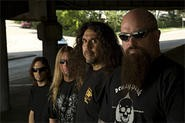 Kerry King (right) isn't expecting a call from the Rock Hall.