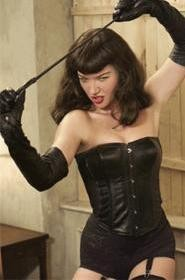 Kitten with a whip: Bettie (Gretchen Mol) makes perversion naughty but nice.