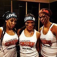 Sensational Summer: 48 of Cleveland's Best Summer Photos Ladies of the Crush Lingerie Football League Photo Courtesy of Instagram